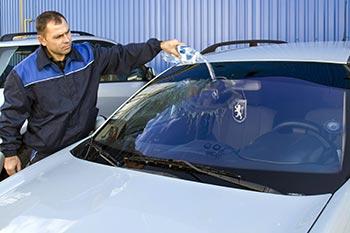 тест защитного покрытия на стекле