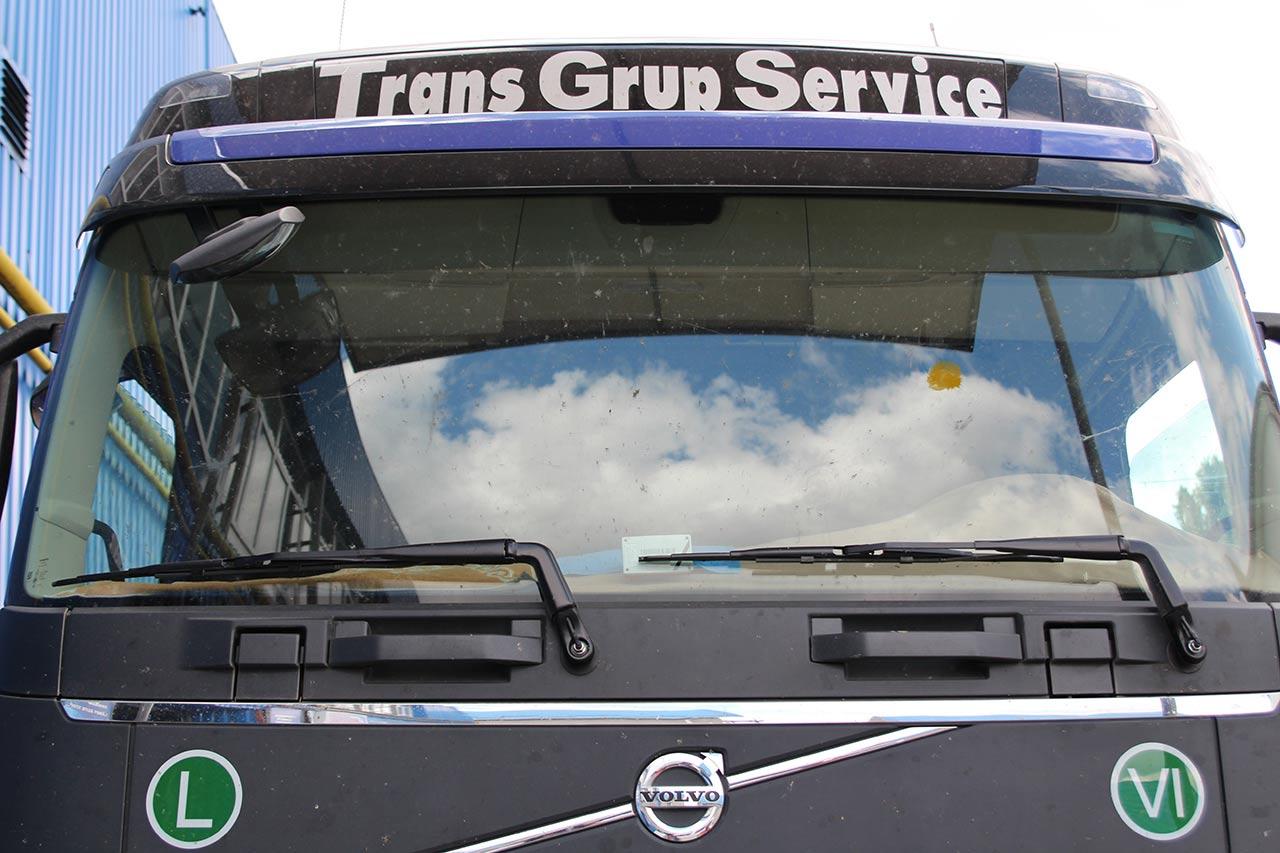 Замена лобового стекла на грузовик Volvo FH Euro 6
